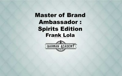Master of Brand Ambassador : Spirits Edition